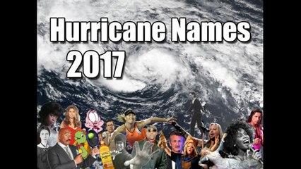 Atlantic Hurricane Names 2017