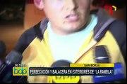 La Rambla: policía busca a otros implicados en balacera