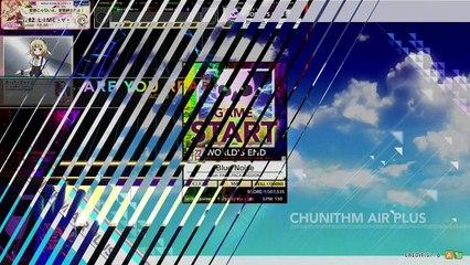 【CHUNITHM AIR PLUS】Blue Noise [WORLDS END 招 ☆☆]ALL JUSTICE【外部出力+手元合成】