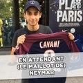 En attendant (le maillot de) Neymar devant la boutique du PSG