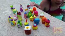 Diving for Shopkins Part 2 Kid Girl Swimming Playing Underwater Pool Fun