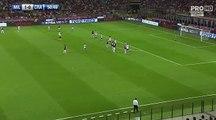 AC Milan (Ita)2-0CS U. Craiova (Rou) 03.08.2017 Patrick Cutrone GOAL AC Milan (Ita) 2-0 CS U. Craiova (Rou) 03.08.2017