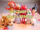UPSY DAISY IS MADE A PRINCESS PETS PARADE IN THE NIGHT GARDEN SOFIA OWLETTE NAHAL AGNES GRU DESPICABLE ME 3 Toys BABY Videos, SOFIA THE FIRST , PJ MASKS, SHIMMER AND SHINE ,