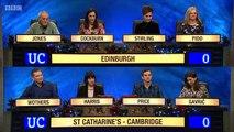 University Challenge Christmas 2016 E05 Edinburgh v St Catharines Cambridge