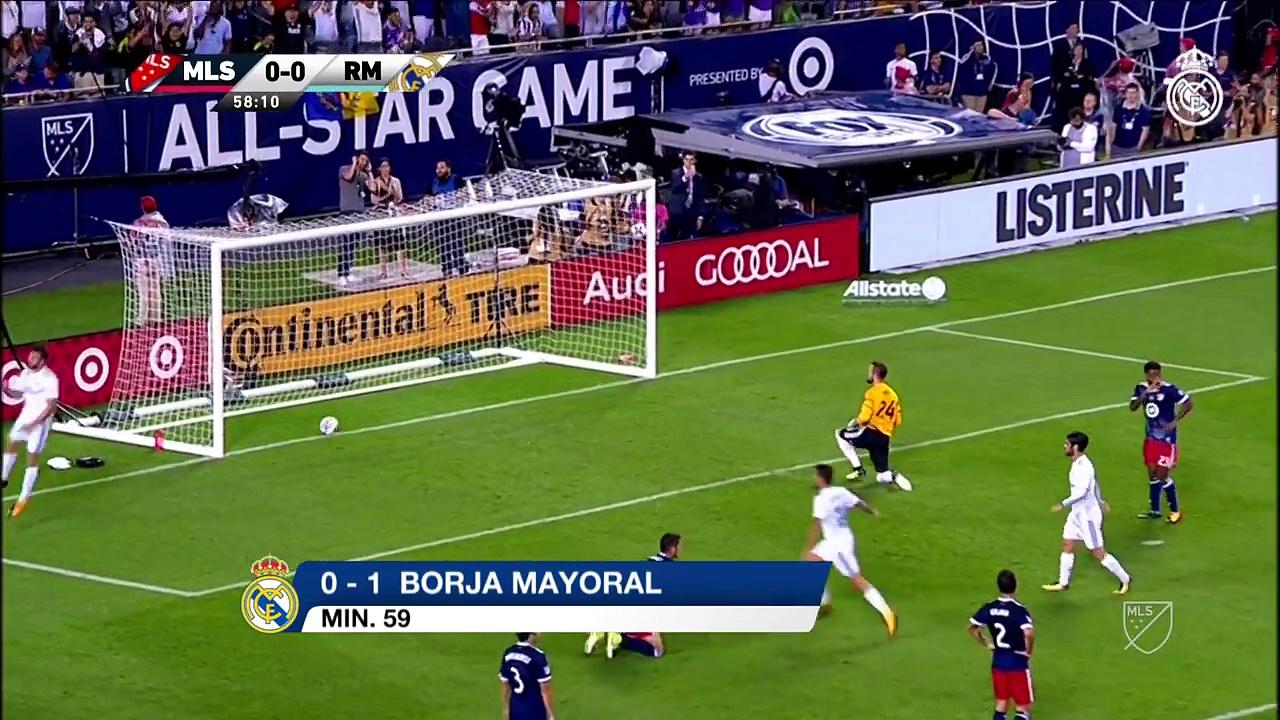 HIGHLIGHTS   MLS All-Stars 1-1 Real Madrid (2-4 pens)