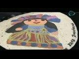 Artesanías con tortillas //Tianguis turístico de México 2013