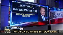 Fmr. Sen. Bob Dole on anti Trump protests