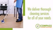 Janitorial & Office Cleaning Services - Compass Cleaning Solutions
