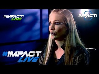 Sienna Talks The Return of Live Events to IMPACT Calendar   #IMPACTLive