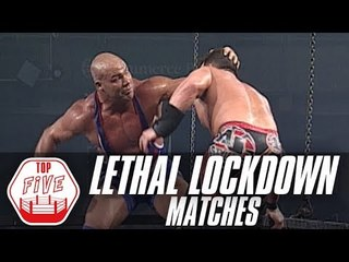 5 Most Extreme Lethal Lockdown Matches   Fight Network Flashback