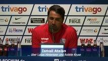 Bochum: Trainer Atalan und Manager Hochstätter vor dem Derby in Duisburg