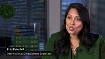 Priti Patel addresses issue of Irish border post-Brexit