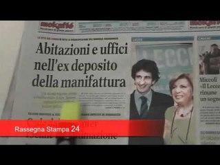 Leccenews24 notizie dal Salento in tempo reale Rassegna Stampa 4 Giugno