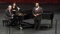 Tenor, J. Warren Mitchell, sings Three songs by F. P. Tosti