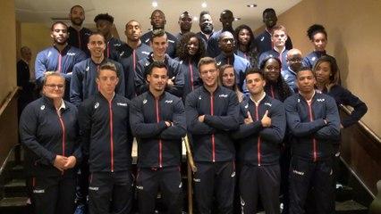 Londres 2017 : La photo d'équipe des Bleus