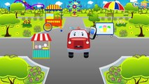 The Police car Vs BAD CARS Battle Vehicle & Chi Chi Car for children Cars & Trucks for Kid