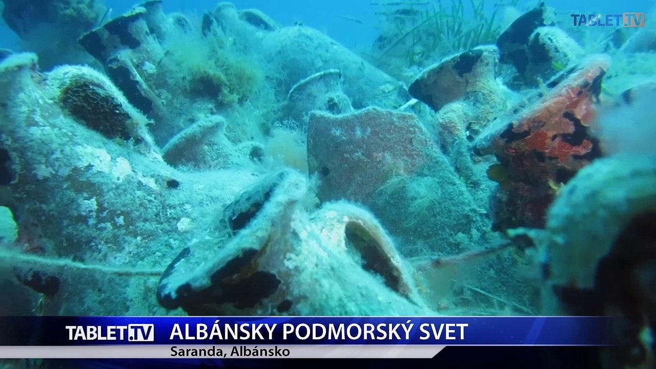 Albánske poklady pod morskou hladinou