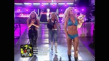 Torrie Wilson and Beth Phoenix (w/ Trish Stratus) vs. Victoria and Candice Michelle (w/ Mickie James)