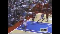 Michael Jordan (46 4 6) 1991 ECSF Gm 3 vs. Sixers Hersey Hawkins Game Winner