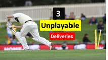 Top 3 unplayable bowling deliveries ever bowled