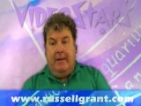 Russell Grant Video Horoscope Taurus October Saturday 27th