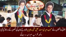 Crazy Fans Bath Jab Harry Met Sejal Posters With MILK - Shahrukh Khan CRAZE