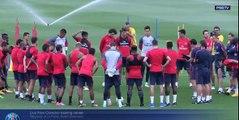 1er entraînement Neymar au PSG