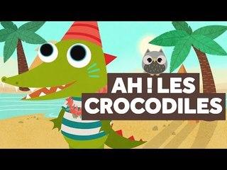 Ah ! Les Crocodiles - Comptines pour Bébé - Le Monde Des Zibous
