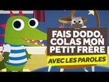 Fais Dodo, Colas Mon Petit Frère (avec les paroles) - Comptines pour Bébé - Le Monde Des Zibous