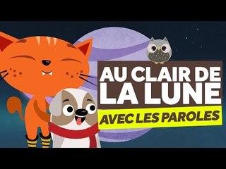 Au Clair De La Lune (avec les paroles) - Comptines pour Bébé - Le Monde Des Zibous