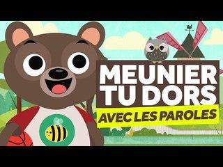 Meunier, Tu Dors (avec les paroles) - Comptines pour Bébé - Le Monde Des Zibous