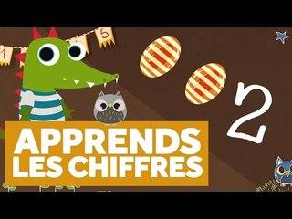 Apprendre Les Chiffres (Partie 1) - L'École des Zibous ! Vidéo Educative