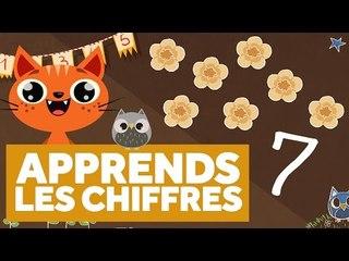 Apprendre Les Chiffres (Partie 2) - L'École des Zibous ! Vidéo Educative