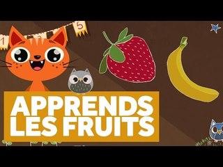 Apprendre Les Fruits - L'École des Zibous ! Vidéo Educative