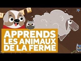 Apprendre Les Animaux de la Ferme - L'École des Zibous ! Vidéo Educative
