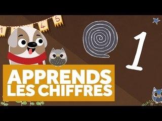 Apprendre Les Chiffres (1 à 10) - L'École des Zibous ! Vidéo Educative