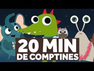 20 Minutes de Comptines pour les Enfants - Fais Dodo, Colas Mon Petit Frère - Le Monde des Zibous