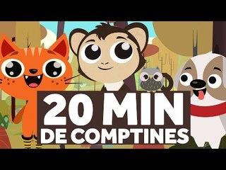 20 Minutes de Comptines pour les Enfants - Pirouette, Cacahuète - Le Monde des Zibous