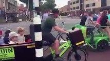 En Hollande, des vélos remplacent les bus de ramassage scolaire