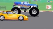 Super Camión Monstruo - Aventura con Transportes | Dibujo animado de coches PASEO