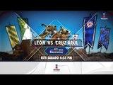 No te pierdas León vs. Cruz Azul en Imagen Televisión | Imagen Deportes