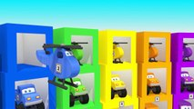 Learn Colors and Numbers with 3-D Cars & Helicopters I Learning Video for Toddlers Childre
