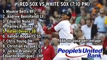 Red Sox Lineup: Rafael Devers Batting Fifth Vs. White Sox