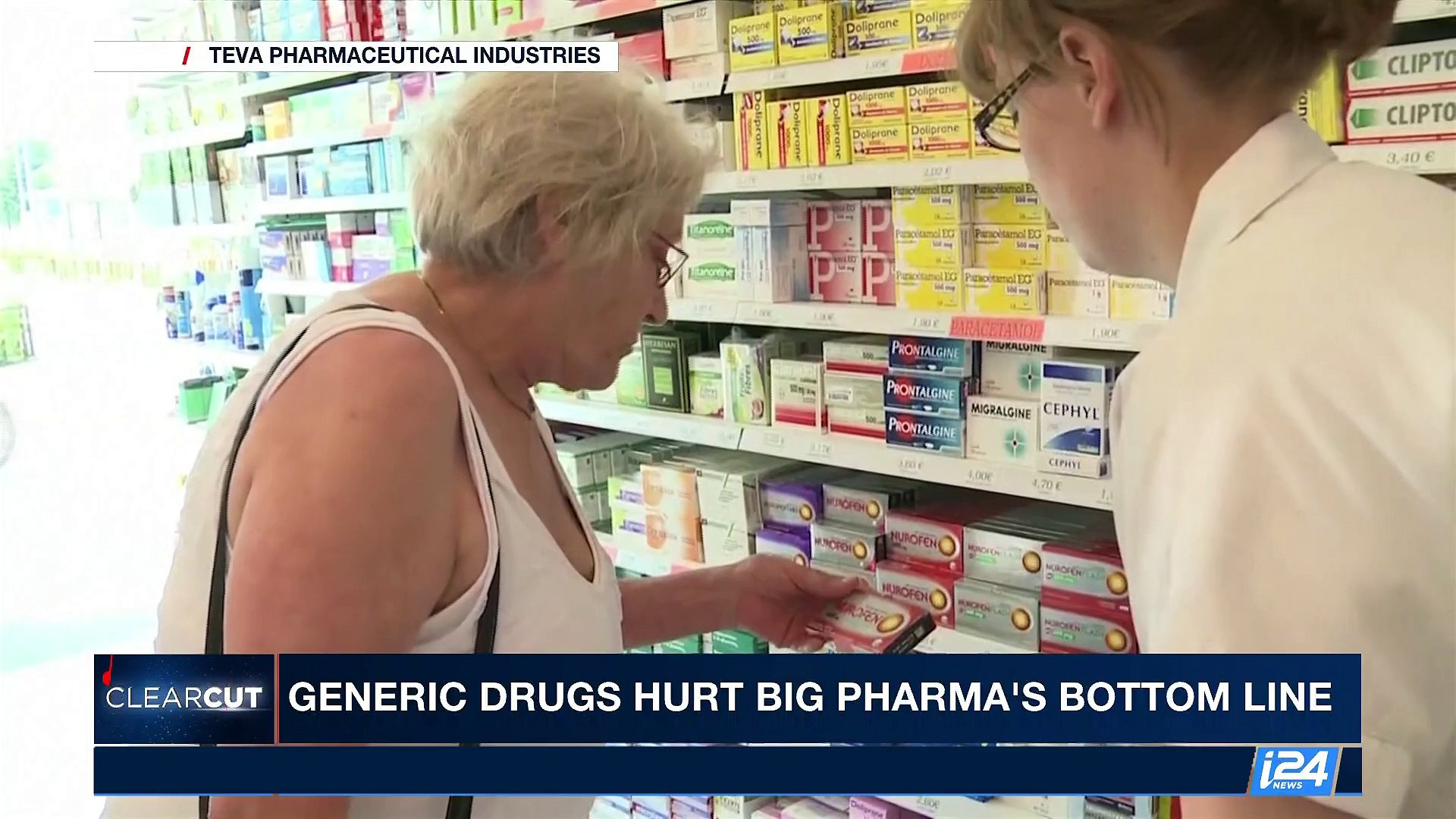 CLEARCUT | Generic drugs hurt big pharma's bottom line | Friday, August 4th 2017