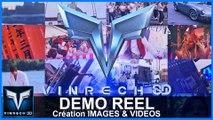 DEMO REEL - VINRECH 3D Création Images & Vidéos