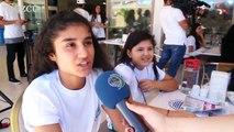 Mardin ve Siirt'ten gelen 90 çocuk denizle ilk kez buluştu