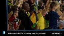 Usain Bolt ovationné comme un roi aux mondiaux d'athlétisme de Londres (Vidéo)
