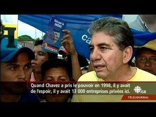 Téléjournal - Une opposition pour Chavez