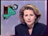 Antenne 2 - 26 Mars 1991 - Pubs, teasers, JT Nuit (Claire Chazal), météo