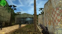 Counter-Strike v1.6 gameplay with Hard bots - Airstrip - Counter-Terrorist (Old - 2014)